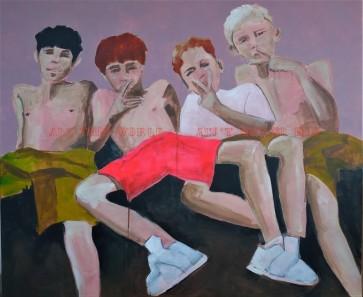 #13 Petrus, Hansie, Rugrun and Jason (Coranation Park, Krugersdorp, South Africa)